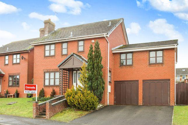 Thumbnail Detached house for sale in Cygnet Drive, Durrington, Salisbury