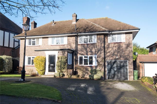 Thumbnail Detached house for sale in Greys Park Close, Keston