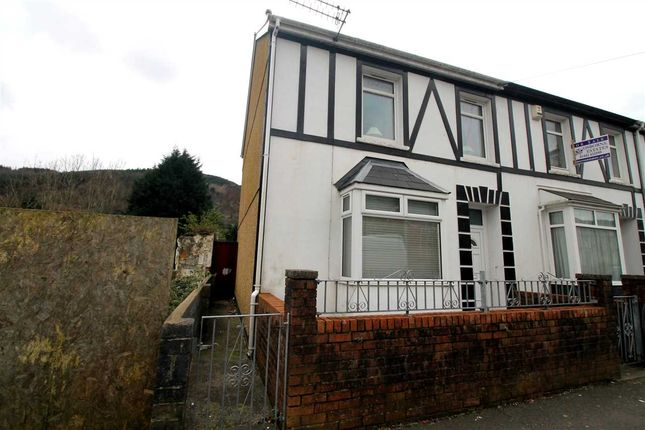 Thumbnail End terrace house for sale in Bute Street, Treherbert, Treorchy