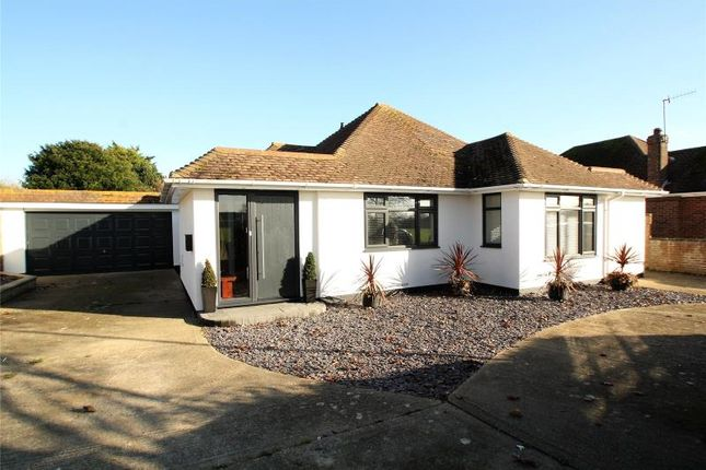 Thumbnail Detached bungalow for sale in Wellesley Avenue, Goring By Sea, Worthing