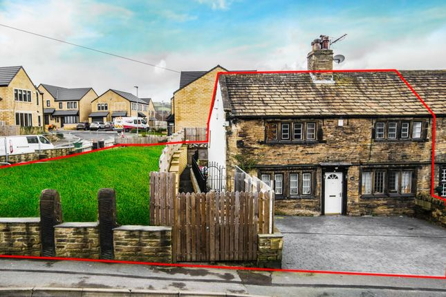 Thumbnail End terrace house for sale in Cowlersley Lane, Cowlersley, Huddersfield
