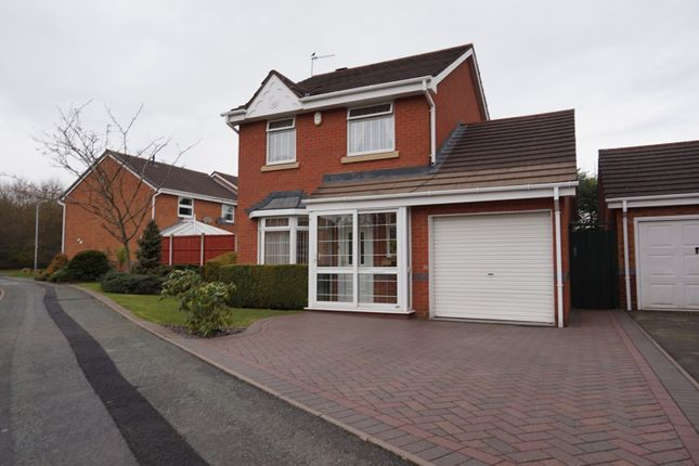 Thumbnail Detached house for sale in Coltsfoot Close, Wolverhampton
