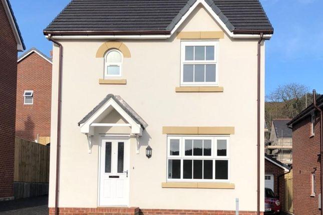 Thumbnail Detached house for sale in Plot 94 - Maes Helyg, Vicarage Road, Llangollen