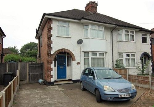 Thumbnail Flat to rent in Queens Road East, Beeston, Nottingham