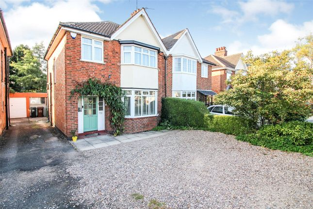 Thumbnail Semi-detached house for sale in Fosse Way, Syston, Leicestershire