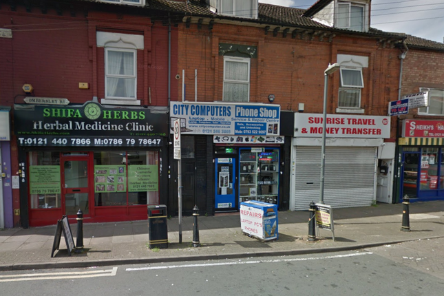 Thumbnail Retail premises to let in Ombersley Road, Sparkbrook, Birmingham