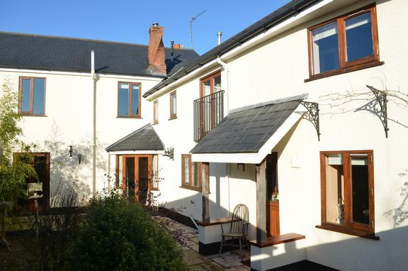 Thumbnail Terraced house for sale in Old Village, Willand, Cullompton