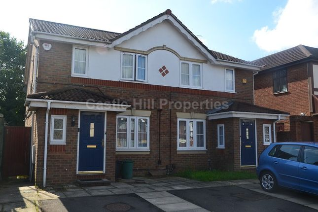 3 bed semi-detached house for sale in Delamere Road, Hayes, Greater London.
