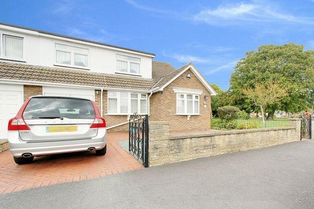 Thumbnail Semi-detached bungalow for sale in Hornbeam Drive, Cottingham