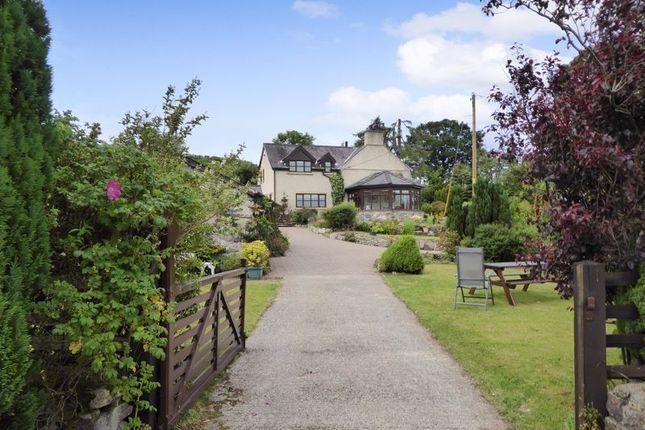 Thumbnail Detached house for sale in Cwm-Y-Glo, Caernarfon