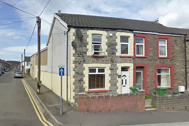 Thumbnail End terrace house to rent in Brook Street, Treforest, Pontypridd
