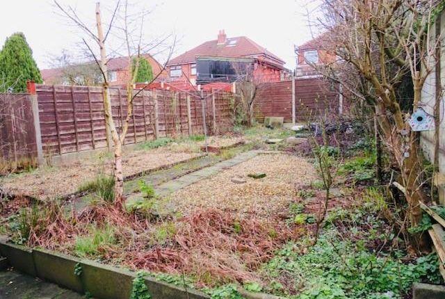 Garden of Berwyn Avenue, Middleton, Manchester M24