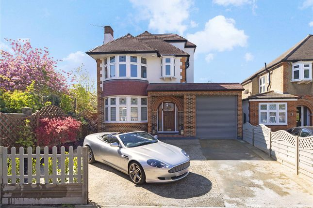 Thumbnail Detached house for sale in Leyfield, Old Malden, Surrey