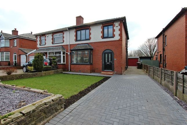 Thumbnail Semi-detached house for sale in Stand Lane, Radcliffe, Manchester