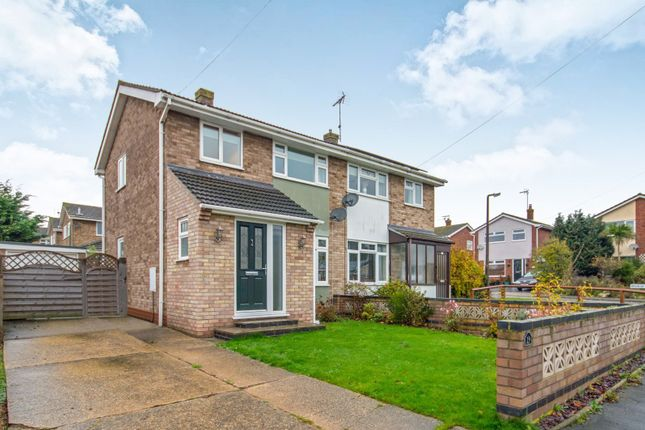 Thumbnail Semi-detached house to rent in Mendip Road, Oulton, Lowestoft