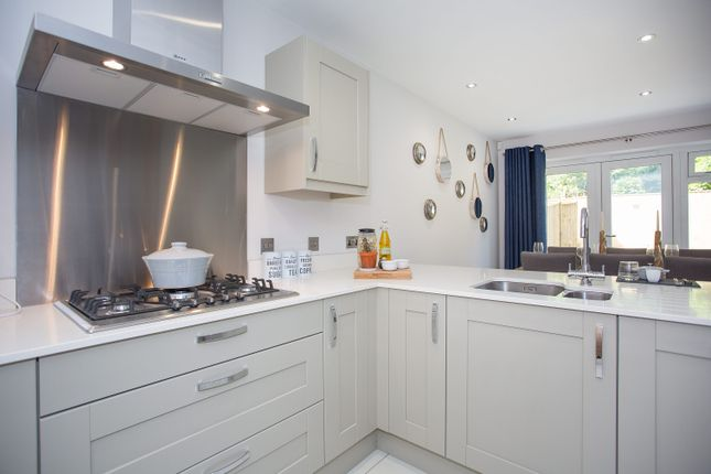 Thumbnail Town house for sale in Plot 5, Grove Road, Lymington, Hampshire