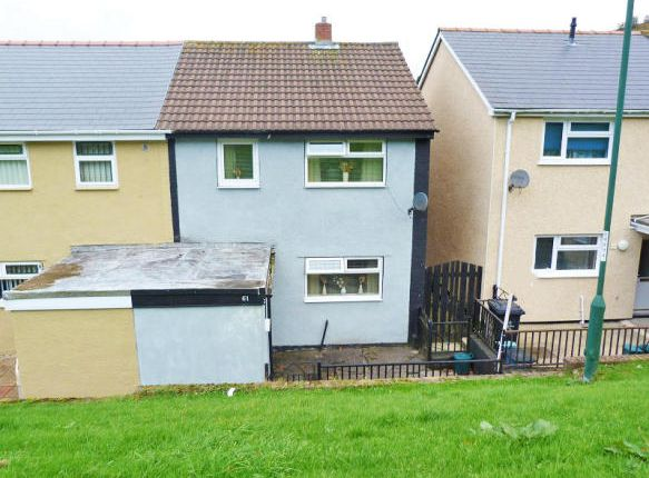 Thumbnail Terraced house for sale in Hillcrest View, Abertillery