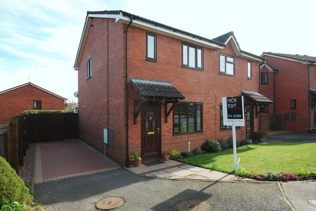 Thumbnail Semi-detached house for sale in Marchwood Close, Bridgnorth