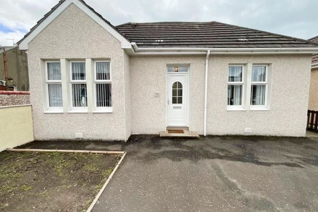 Thumbnail Detached bungalow for sale in Caledonian Road, Stevenston