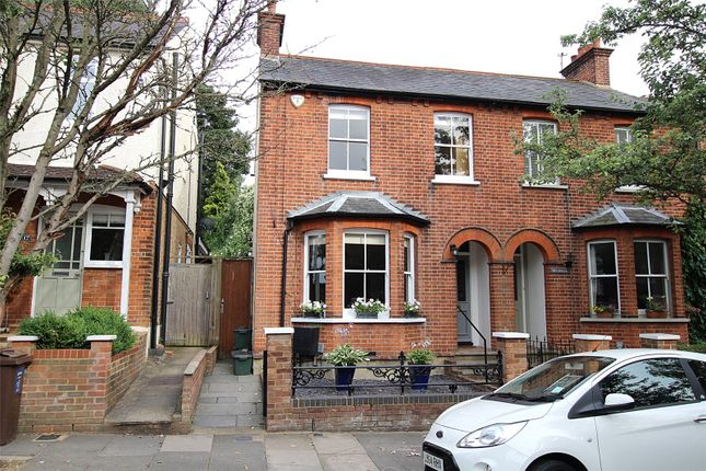 Thumbnail Semi-detached house for sale in Kingsbury Avenue, St. Albans, Hertfordshire