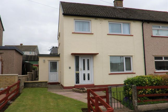 Thumbnail Semi-detached house for sale in New Road, Thornhill, Egremont