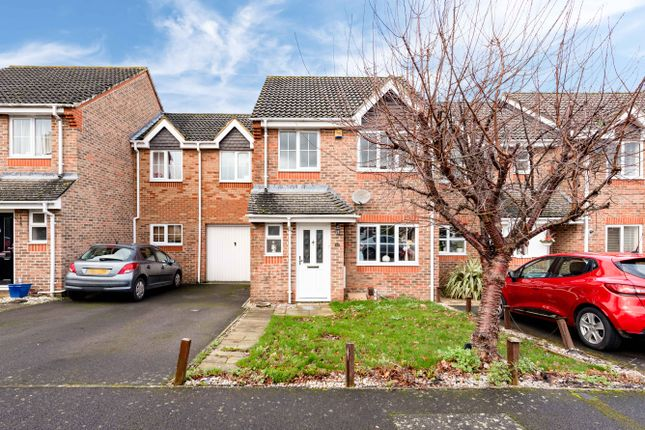 Thumbnail 4 bed terraced house to rent in Manor Crescent, Epsom