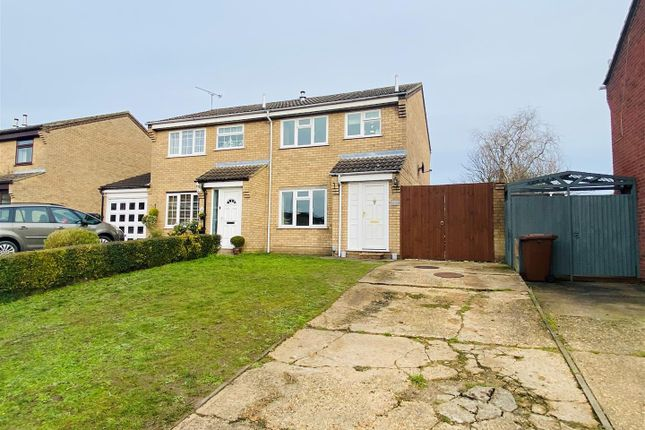 Thumbnail Semi-detached house for sale in Braziers Wood Road, Ipswich