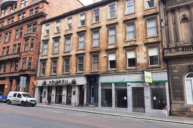 Thumbnail Office for sale in West Nile Street, Glasgow