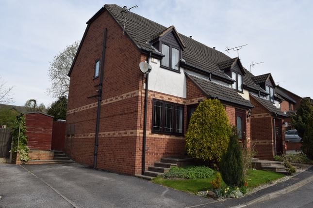2 bed semi-detached house to rent in Birchen Holme, South Normanton, Alfreton DE55