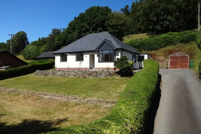 Thumbnail Bungalow for sale in Penygreen Road, Llanidloes, Powys