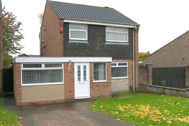 Thumbnail Detached house to rent in Ettrick Drive, Sinfin, Derby