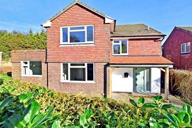 Thumbnail Detached house for sale in Saxonbury Close, Crowborough, East Sussex