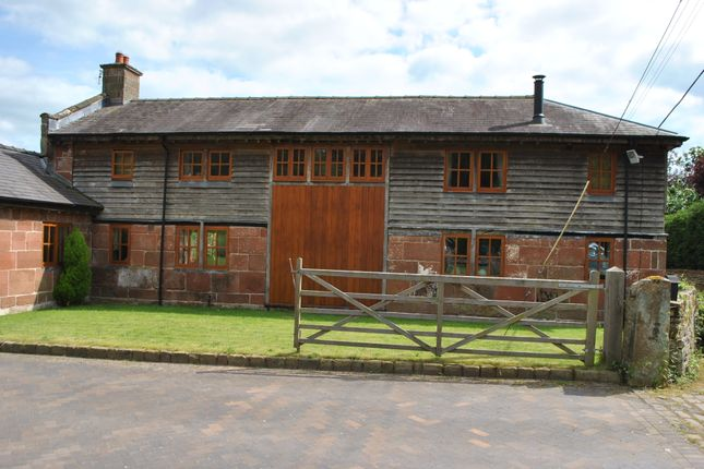 Thumbnail Barn conversion to rent in Gooseberry Lane, Grinshill, Shrewsbury, Shropshire
