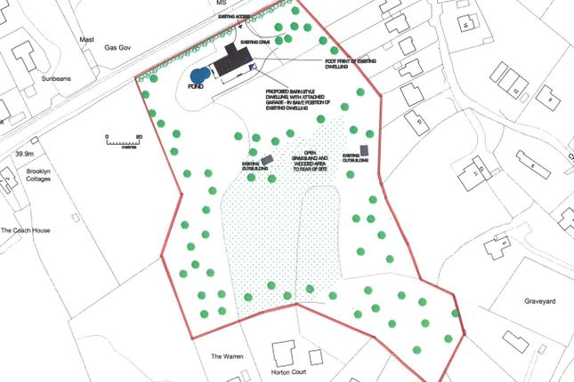Thumbnail Land for sale in Russetts Orchard, Staines Hill, Westbere, Canterbury