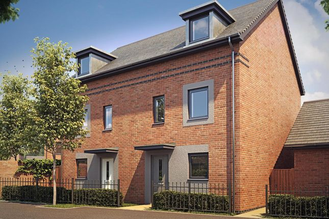 "Thumbnail End terrace house for sale in ""Woodcote"" at Langaton Lane, Pinhoe, Exeter"