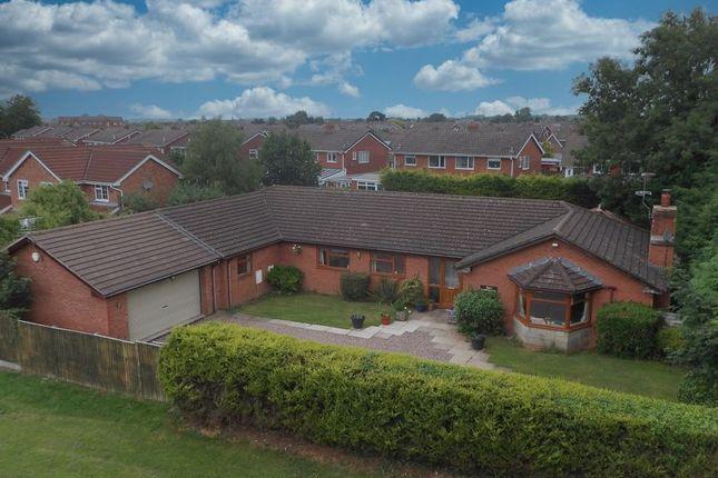 Thumbnail Detached bungalow for sale in Hospital Lane, Market Drayton