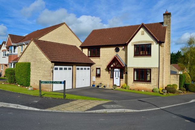 Thumbnail Detached house for sale in Sheppards Walk, Chilcompton