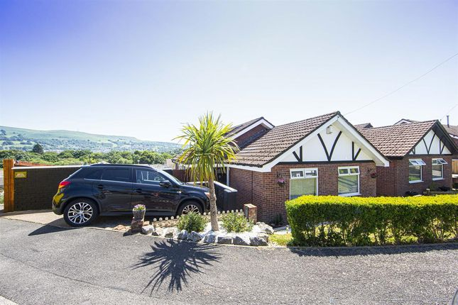 Thumbnail Bungalow for sale in Maes Glas, Coed-Y-Cwm, Pontypridd