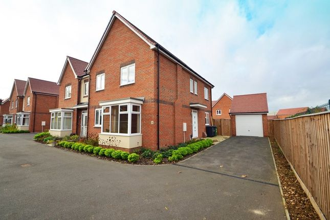 Thumbnail Semi-detached house for sale in Levy Close, Rounds Gardens, Rugby