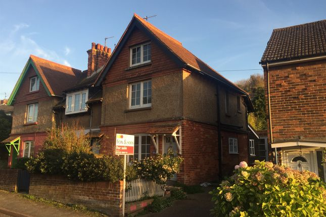 Thumbnail End terrace house for sale in Denton Road, Newhaven