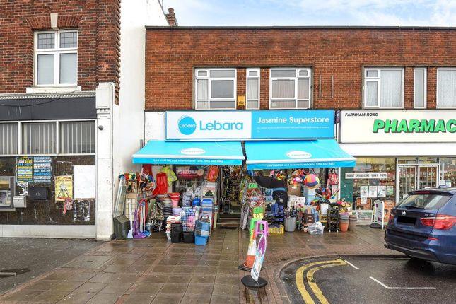 Thumbnail Retail premises to let in Farnham Road, Slough SL1,
