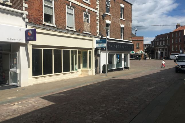 Thumbnail Retail premises for sale in Silver Street, Gainsborough