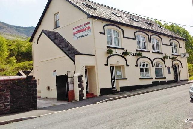 Thumbnail Hotel/guest house for sale in Hendre-Wen Road, Blaencwm, Treorchy