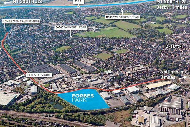 Thumbnail Light industrial for sale in Forbes Park, Fields Farm Road, Long Eaton, Nottingham