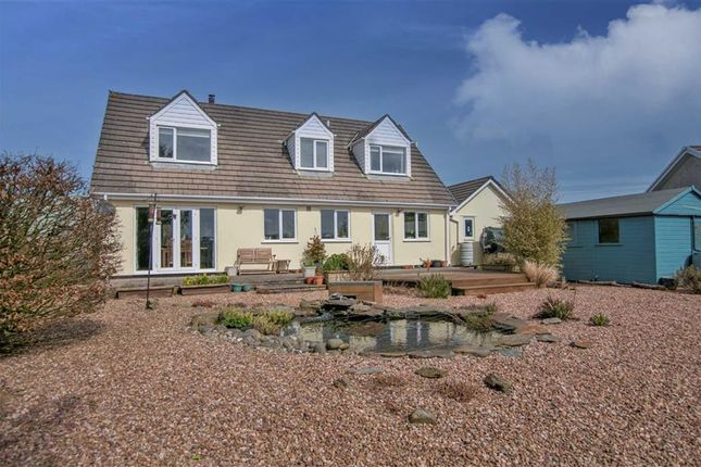 Detached House For Sale In Tresparrett Camelford Cornwall