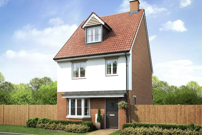 "Thumbnail Semi-detached house for sale in ""The Colne"" at Station Road, Felsted, Dunmow"