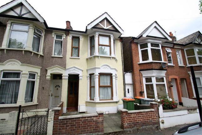Thumbnail End terrace house for sale in Haldane Road, East Ham, London