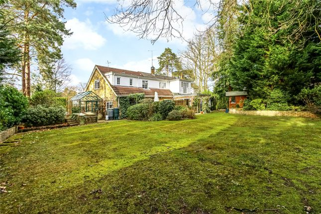 4 bed detached house for sale in Macdonald Road, Lightwater, Surrey