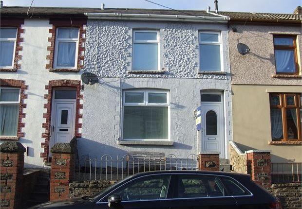 Thumbnail Terraced house for sale in Pleasant View, Wattstown, Porth, Rhondda Cynon Taff.