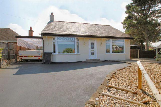 Thumbnail Detached bungalow for sale in Bryn Coch Lane, Mold, Flintshire